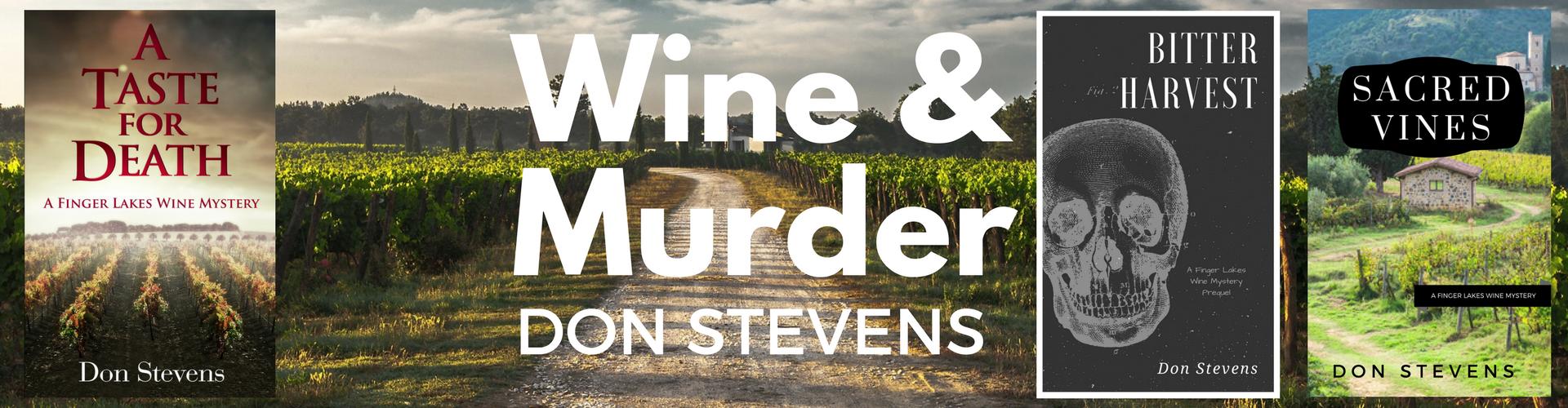 Don Stevens author page